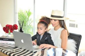 Photo courtesy of www.hive.com. Monica Rose with her daughter Alaia.