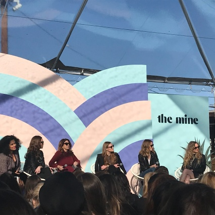 A panel of well branded powerhouses, to include Justina Blakeney who I adore for her branding and her home decor style and her business sense to keep it small and all hers, no investors (currently).