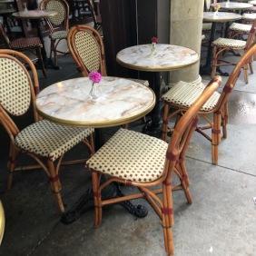 Outside patio at Cafe Intermezzo